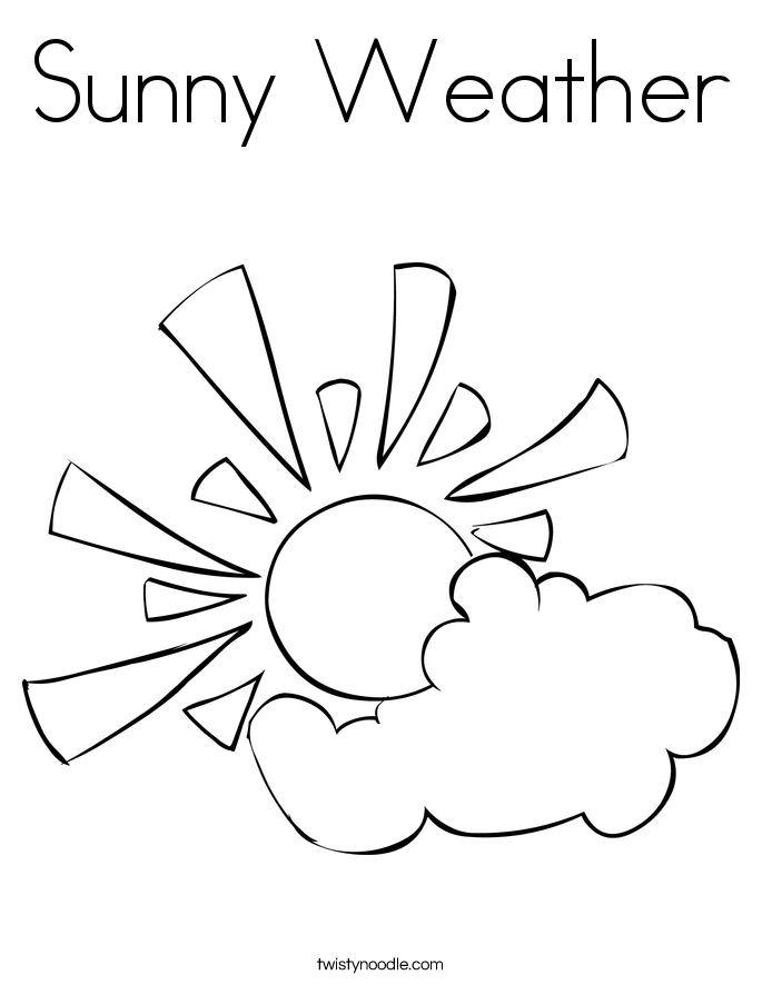 Sunny coloring #19, Download drawings