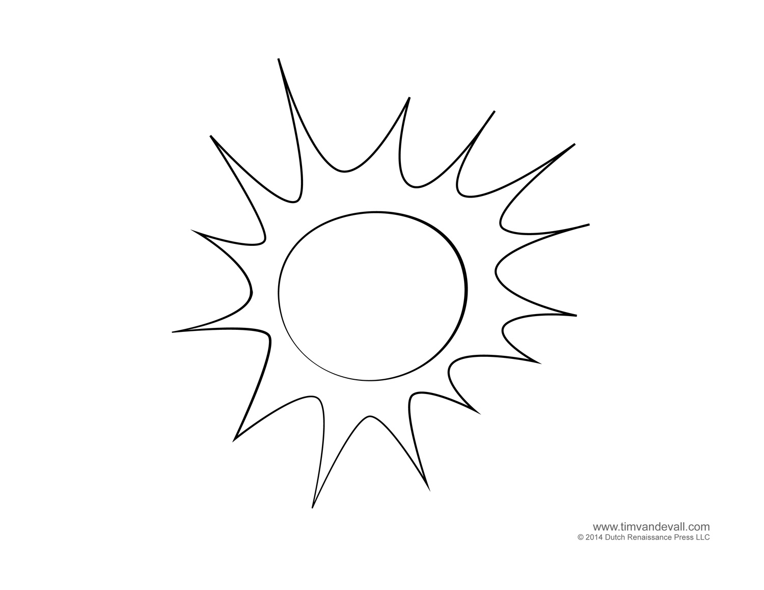 Sunny coloring #9, Download drawings