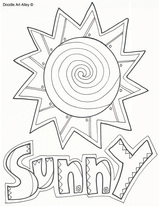 Sunny Coloring Download Sunny Coloring