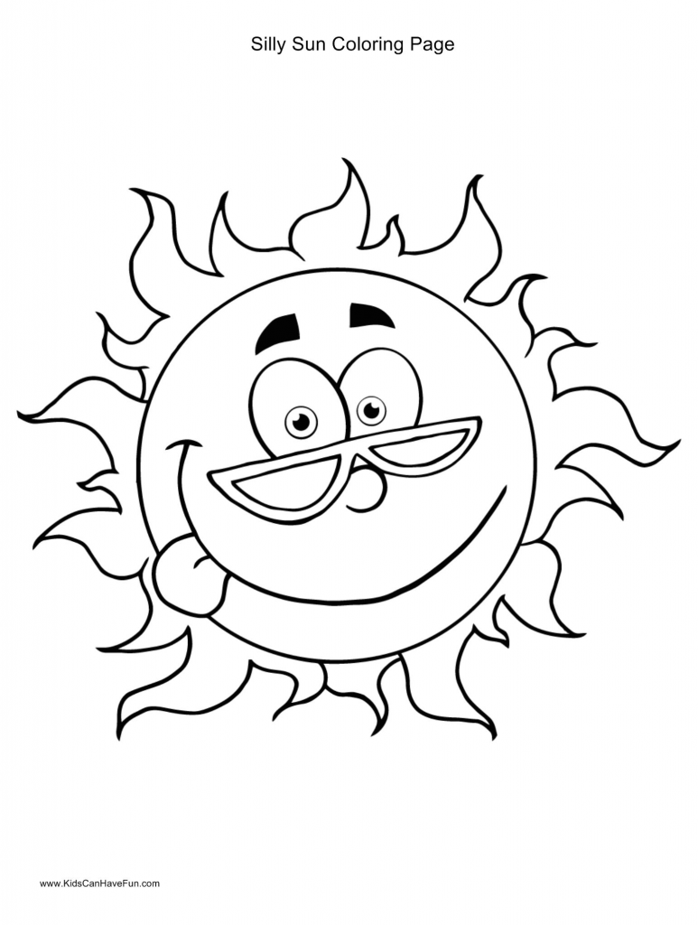 Sunny coloring #15, Download drawings