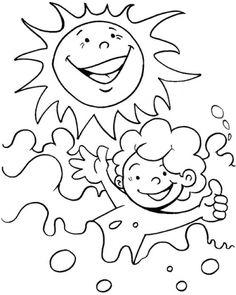 Sunny coloring #16, Download drawings