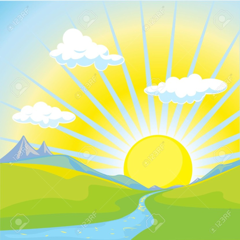 Sunrise clipart #10, Download drawings