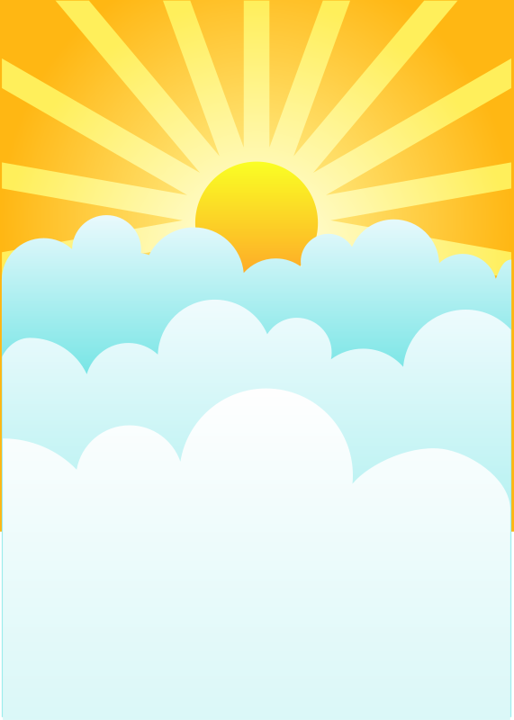Sunrise clipart #4, Download drawings