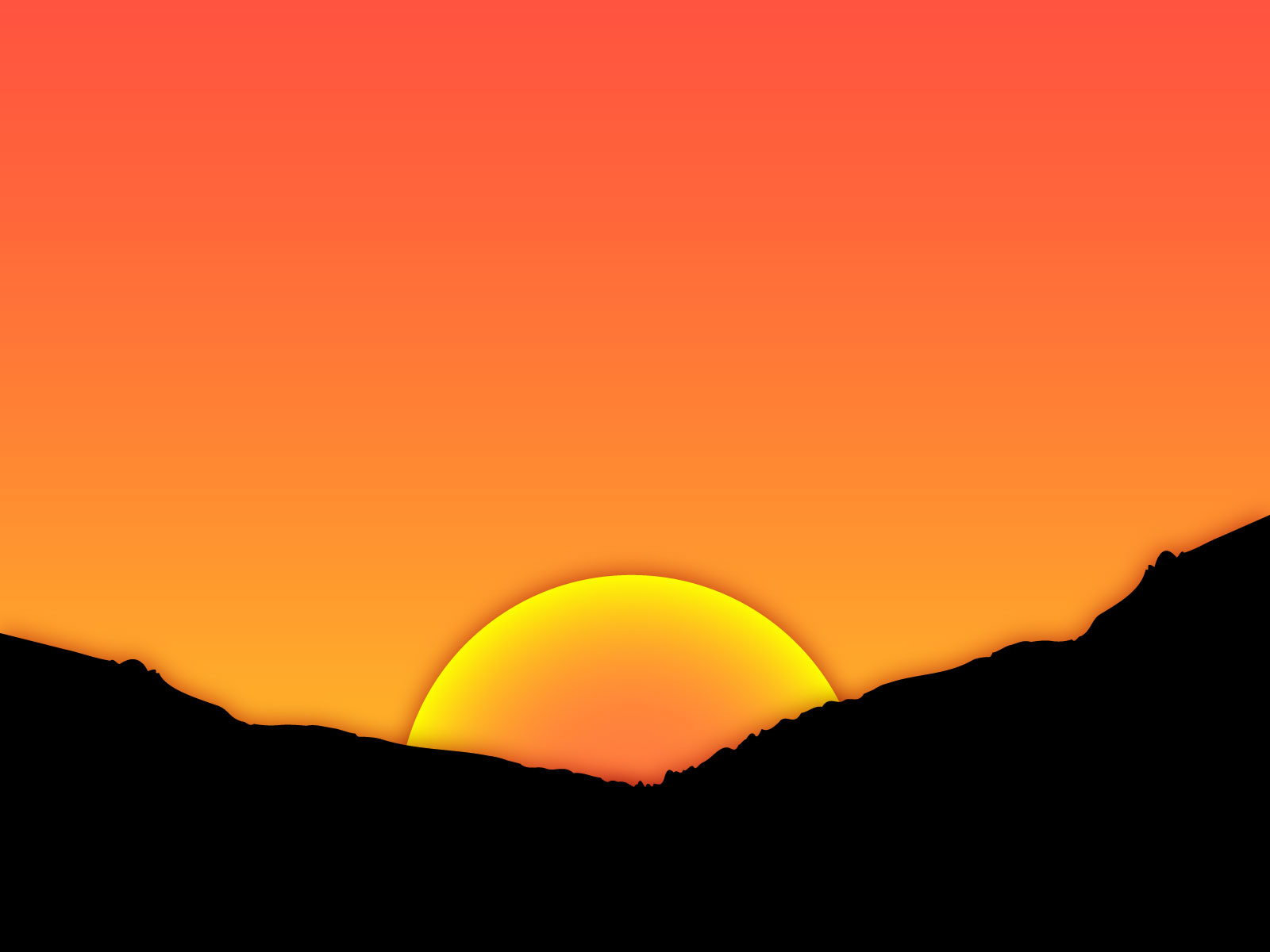 Sunset clipart #15, Download drawings