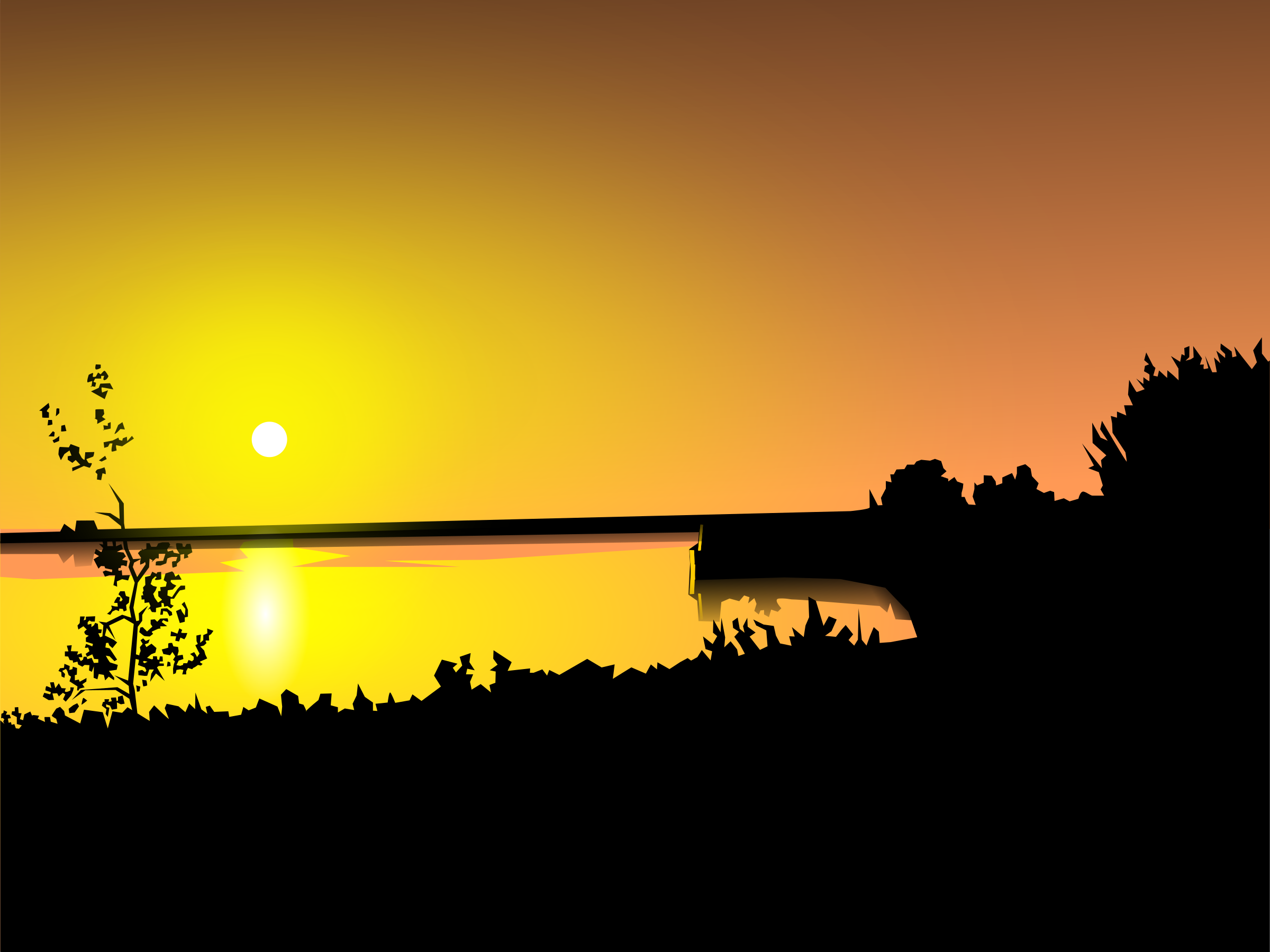 Sunset clipart #3, Download drawings