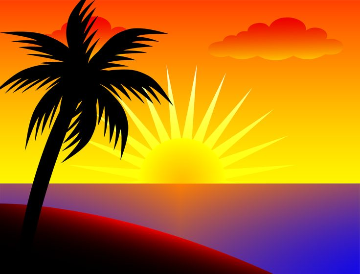 Sunset clipart #17, Download drawings