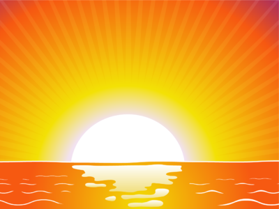 Sunset clipart #9, Download drawings