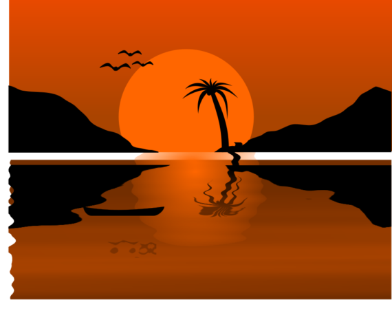 Sunset clipart #1, Download drawings