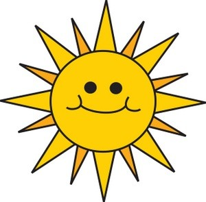 Sunshine clipart #1, Download drawings