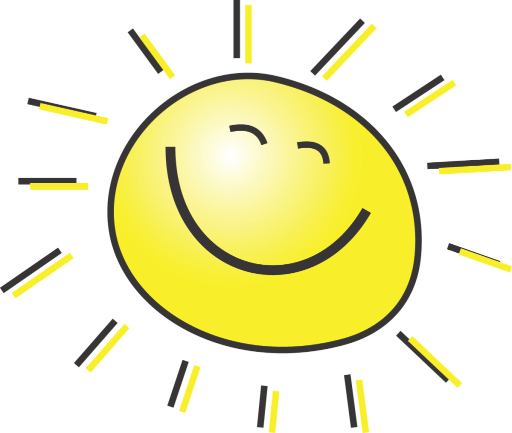 Sunshine clipart #4, Download drawings