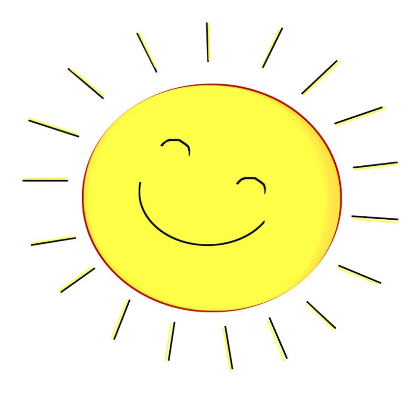 Sunshine clipart #17, Download drawings