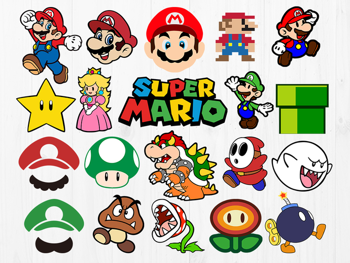 super mario svg #685, Download drawings