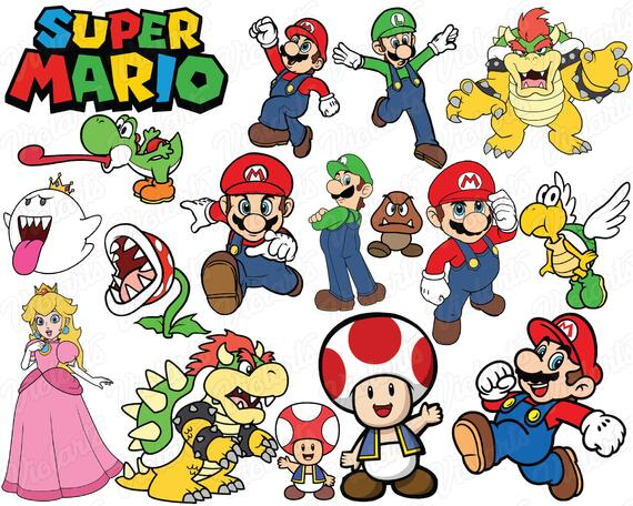 super mario svg #688, Download drawings