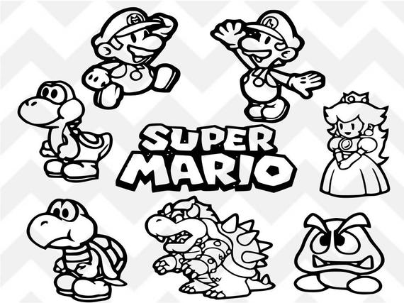 super mario svg #695, Download drawings
