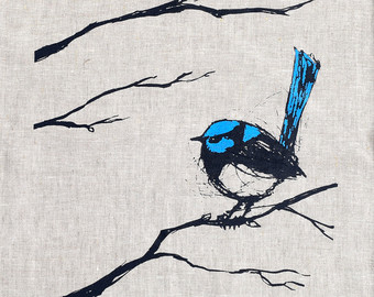 Superb Fairywren clipart #13, Download drawings