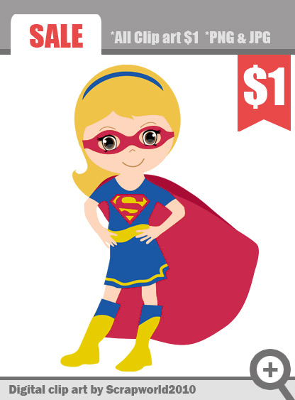 Supergirl clipart #2, Download drawings