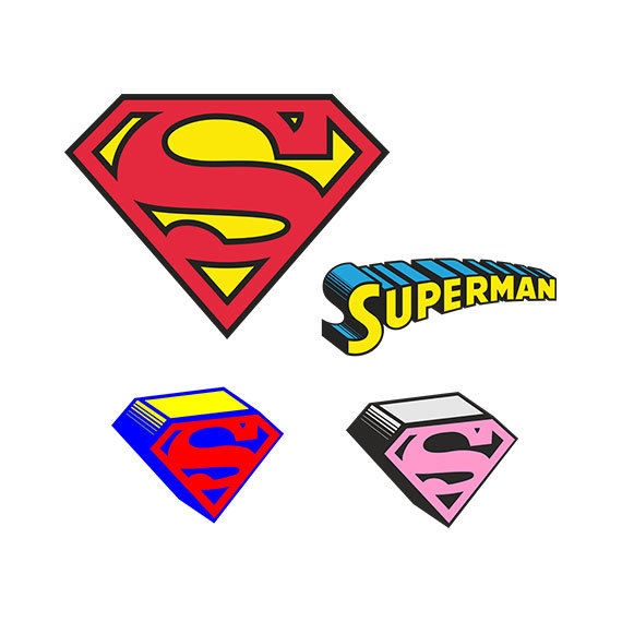 Supergirl svg #2, Download drawings