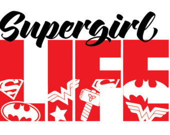 Supergirl svg #20, Download drawings