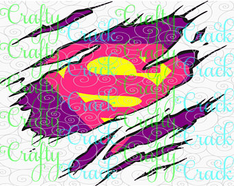 Supergirl svg #19, Download drawings