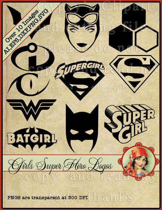 Supergirl svg #16, Download drawings