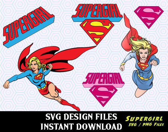 Supergirl svg #18, Download drawings