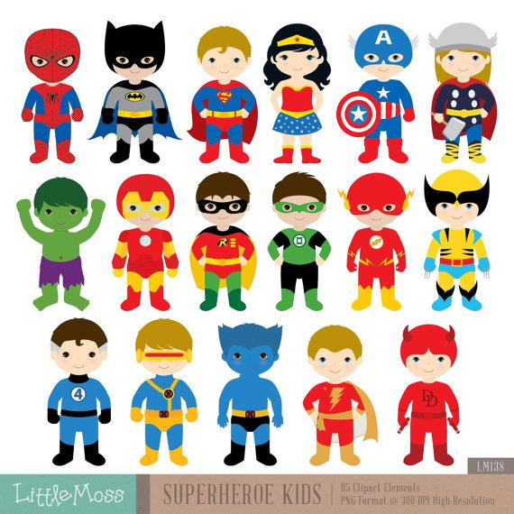 Superhero clipart #13, Download drawings