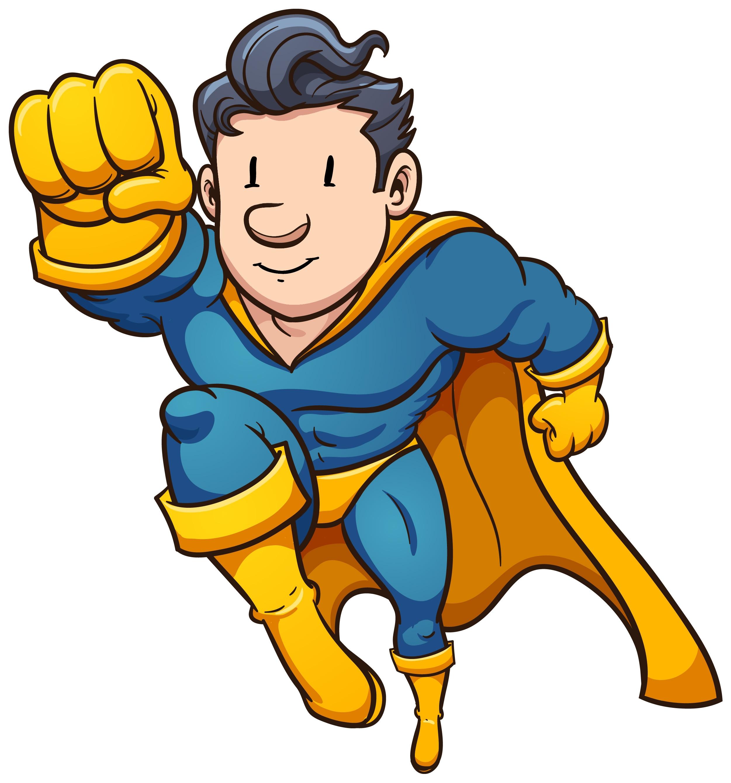 Superhero clipart #4, Download drawings