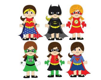 Superhero clipart #6, Download drawings