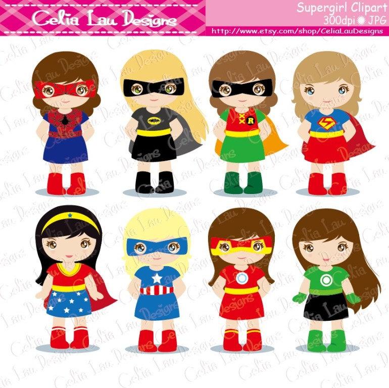 Superhero clipart #5, Download drawings