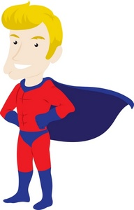 Superhero clipart #18, Download drawings