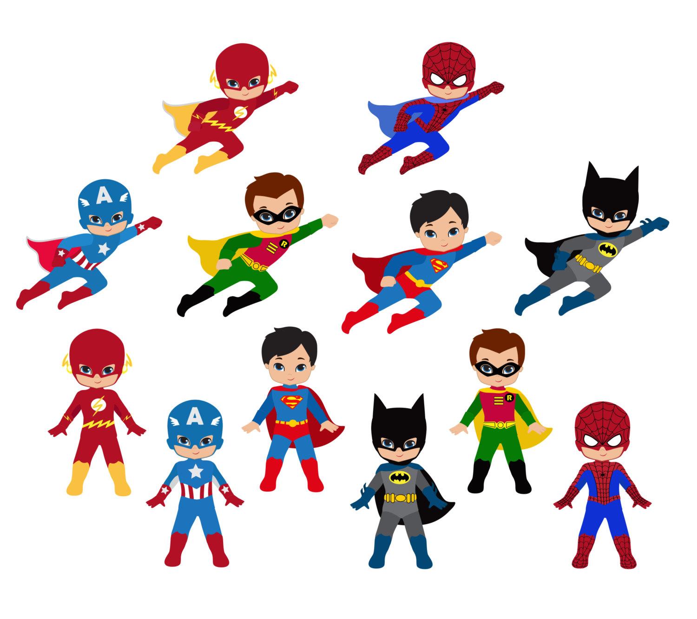 Superhero clipart #11, Download drawings
