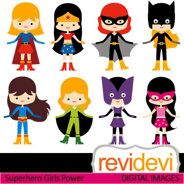 Superhero clipart #1, Download drawings