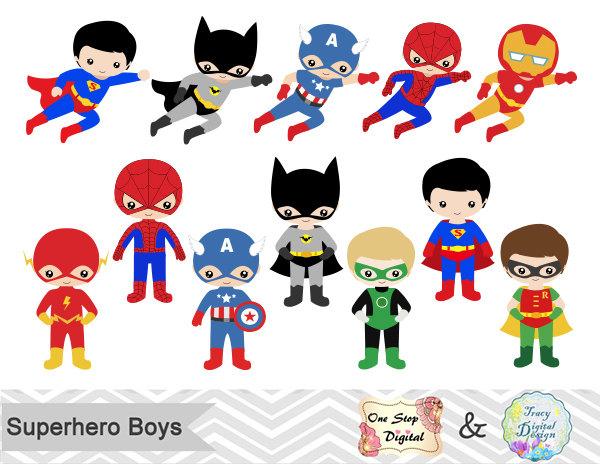 Superhero clipart #14, Download drawings