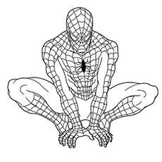 Superhero coloring #17, Download drawings