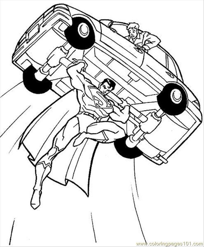 Superhero coloring #12, Download drawings