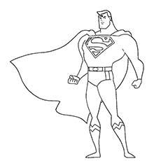 Superhero coloring #20, Download drawings