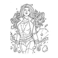 Superhero coloring #3, Download drawings