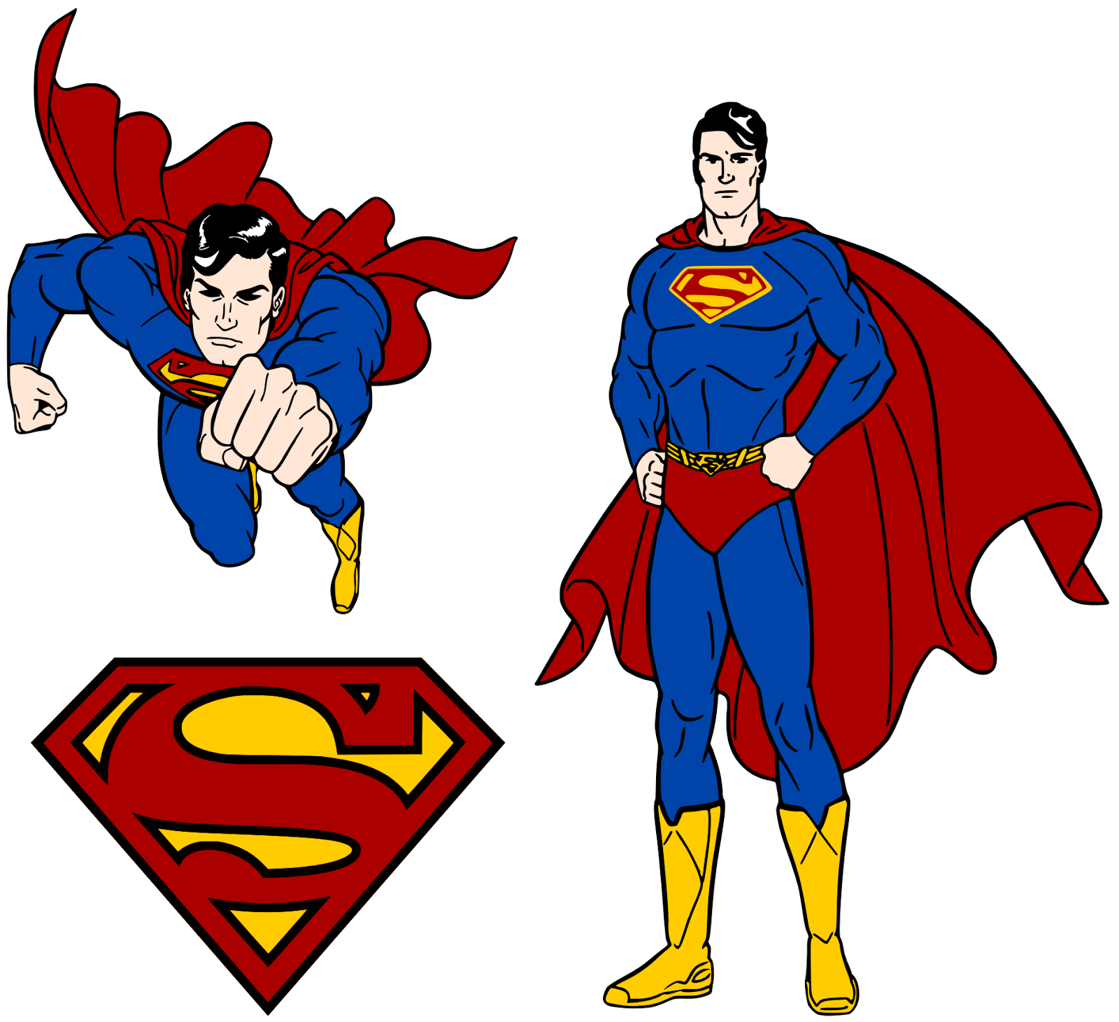 Superman svg #6, Download drawings
