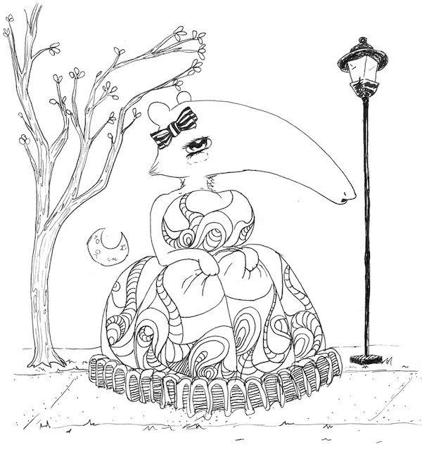 Surrealism coloring #16, Download drawings