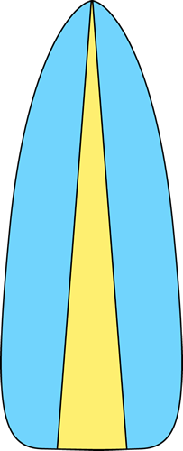 Surfboard clipart #5, Download drawings
