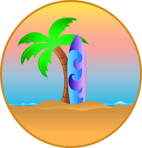 Surfboard clipart #13, Download drawings