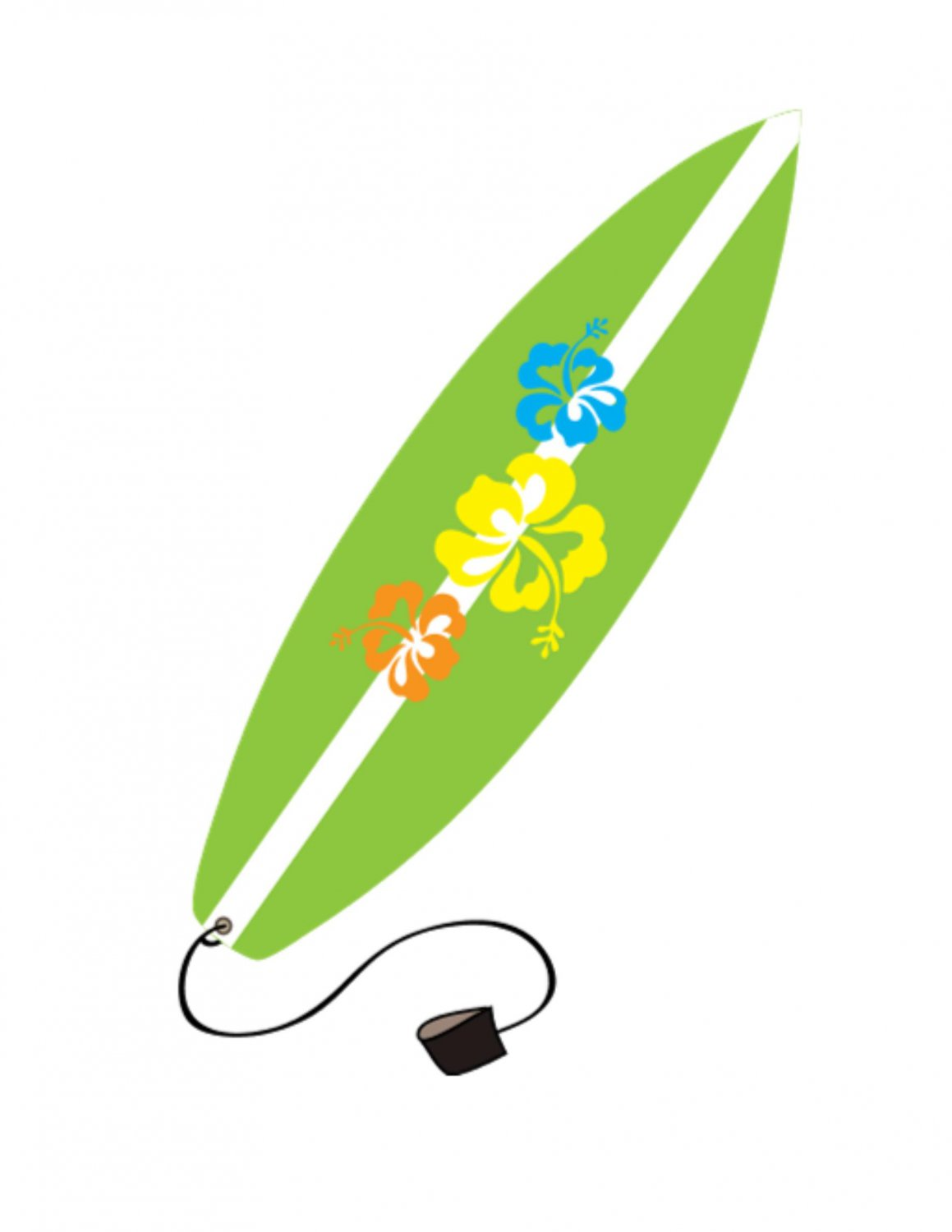 Surfboard clipart #2, Download drawings