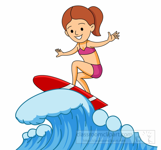 Surfing clipart #3, Download drawings