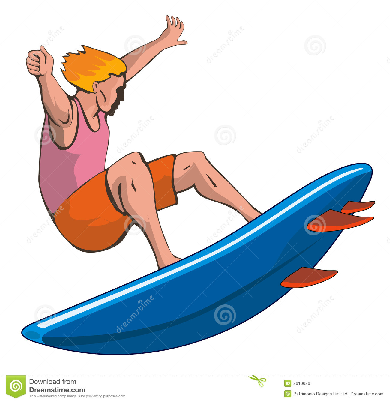 Surfing clipart #1, Download drawings
