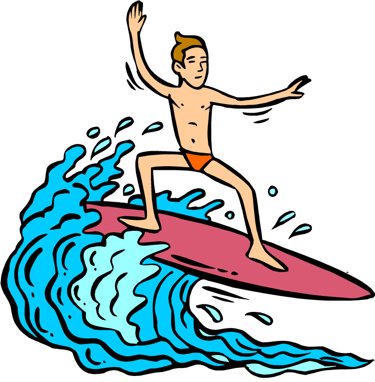 Surfing clipart #9, Download drawings