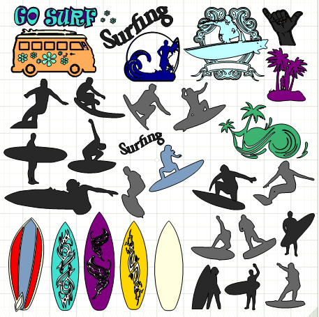 Surfing svg #14, Download drawings