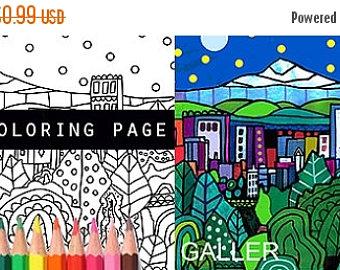 Surreal City! coloring #4, Download drawings