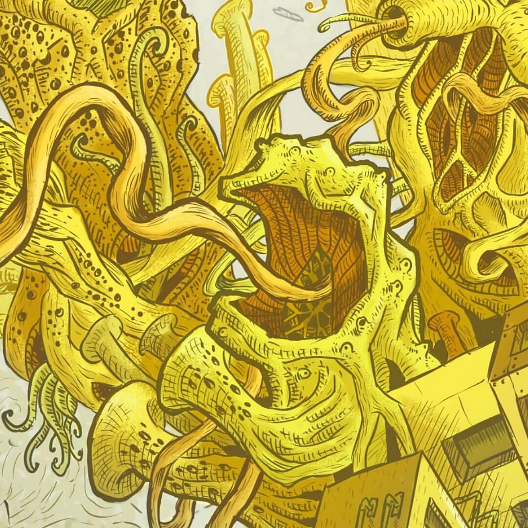 Surreal City! coloring #9, Download drawings