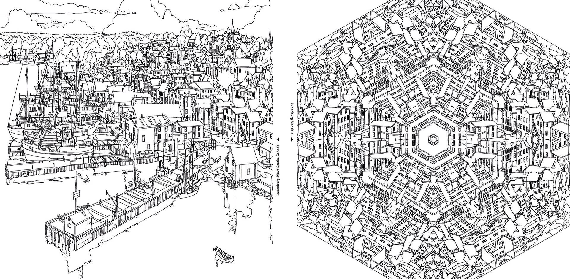 Surreal City! coloring #8, Download drawings