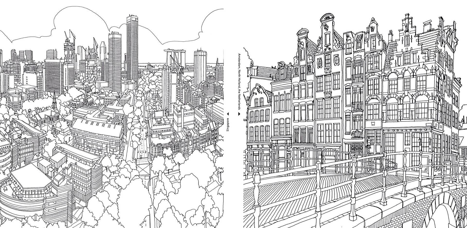 Surreal City! coloring #11, Download drawings